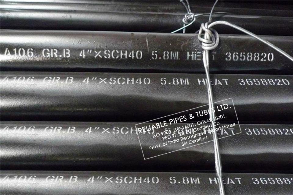 ASTM A106 Grade B Pipe suppliers| ASME SA106 GR B Carbon