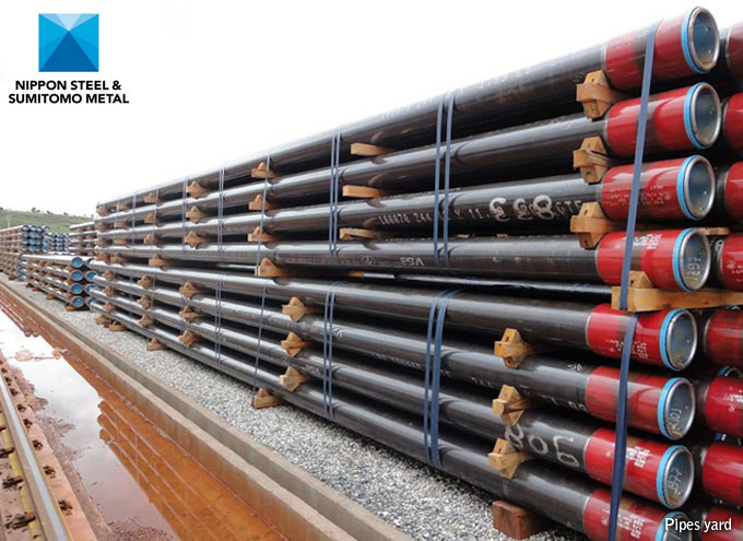 Steel Line Pipe : Nippon steel sumitomo line pipes tubular products octg