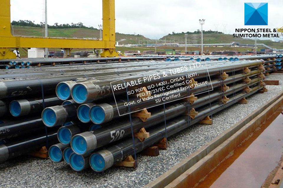 Supplying (steel pipes) Line Pipes for the Oil and Gas Industry