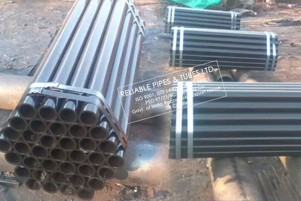 ASTM A139 Gr. B Steel Pipe, ELECTRIC-FUSION (ARC)-WELDED STEEL PIPE supplied to Oil & Gas Industry