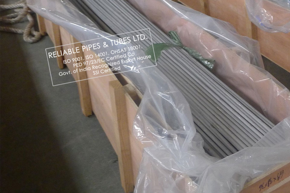 ASTM A213 304 Stainless Steel Tube in RELIABLE PIPES & TUBES Stockyard