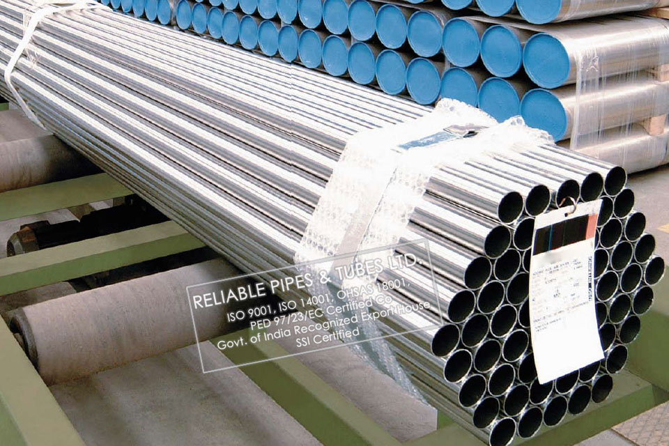 ASTM A312 304 Stainless Steel Pipe in RELIABLE PIPES & TUBES Stockyard