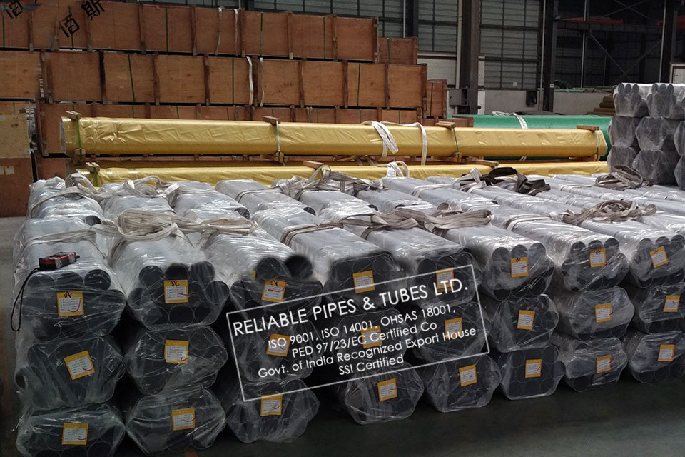 ASTM A312 304L Stainless Steel Pipe in RELIABLE PIPES & TUBES Stockyard
