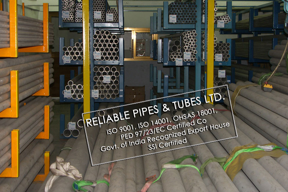 ASTM A312 310 Stainless Steel Pipe in RELIABLE PIPES & TUBES Stockyard