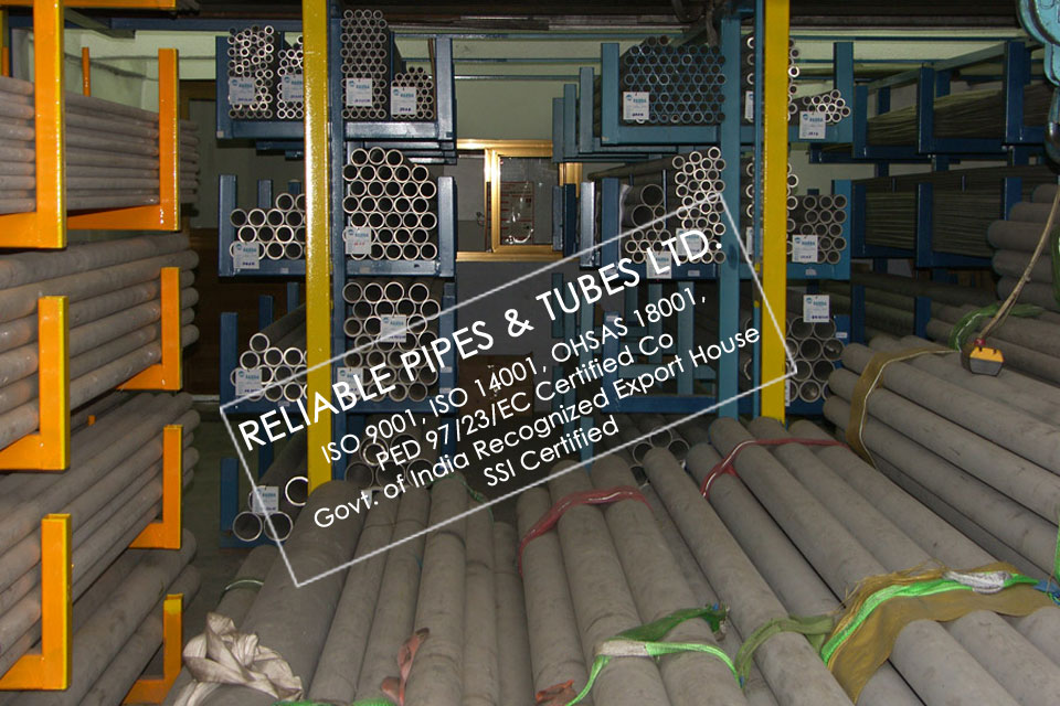 ASTM A312 317 Stainless Steel Pipe in RELIABLE PIPES & TUBES Stockyard