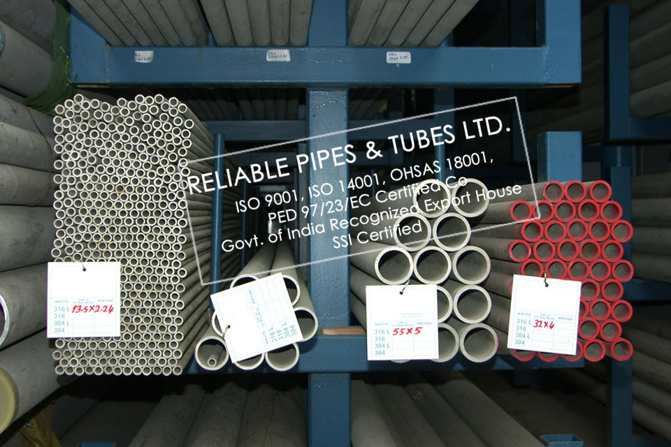 ASTM A312 321H Stainless Steel Pipe in RELIABLE PIPES & TUBES Stockyard