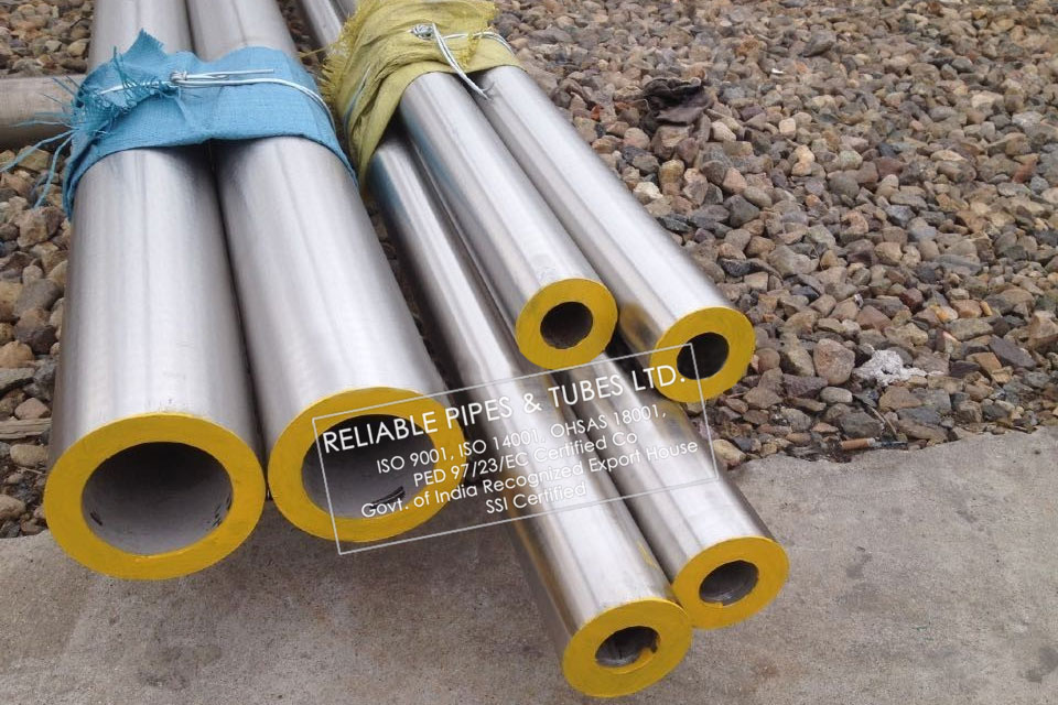 ASTM A790 Duplex Steel UNS S31803 Pipe in RELIABLE PIPES & TUBES Stockyard