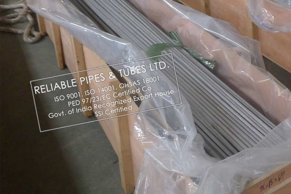 ASTM A790 Duplex Steel UNS S32205 Pipe in RELIABLE PIPES & TUBES Stockyard
