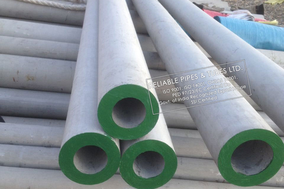 ASTM A790 Super Duplex Steel SAF 2507 Pipe in RELIABLE PIPES & TUBES Stockyard