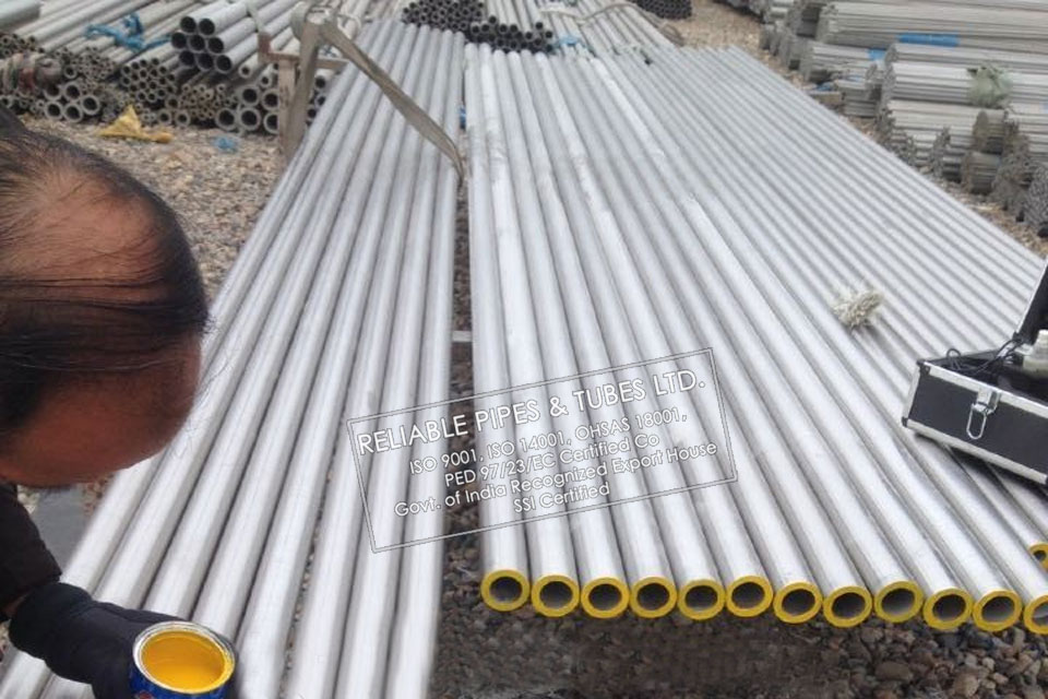 ASTM A790 Super Duplex Steel UNS S32950 Pipe in RELIABLE PIPES & TUBES Stockyard