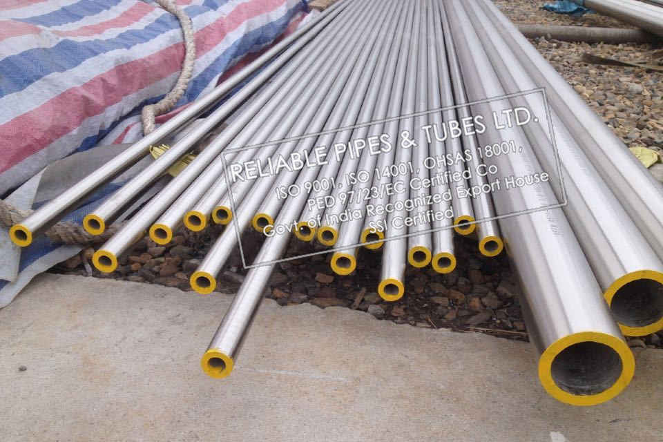 ASTM A790 Super Duplex Steel ZERON 100 Pipe in RELIABLE PIPES & TUBES Stockyard