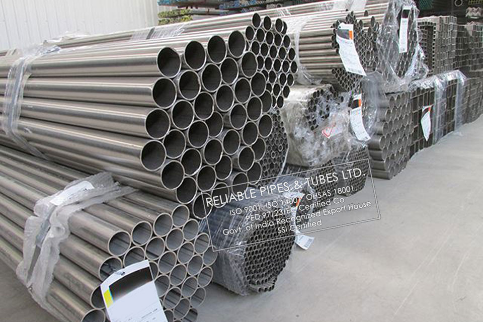 ASTM B161/B725 Nickel 200 Pipe in RELIABLE PIPES & TUBES Stockyard