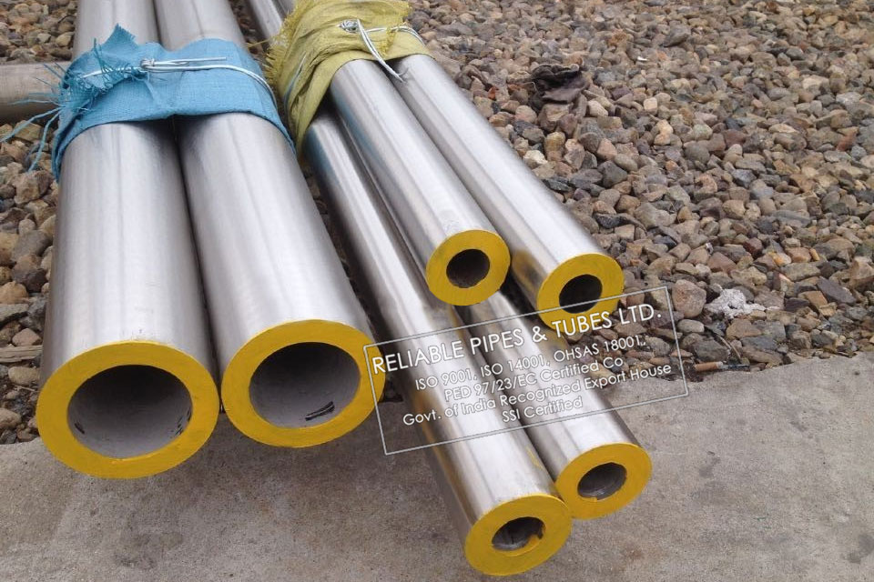 ASTM B163/B725 Monel 400 Pipe in RELIABLE PIPES & TUBES Stockyard
