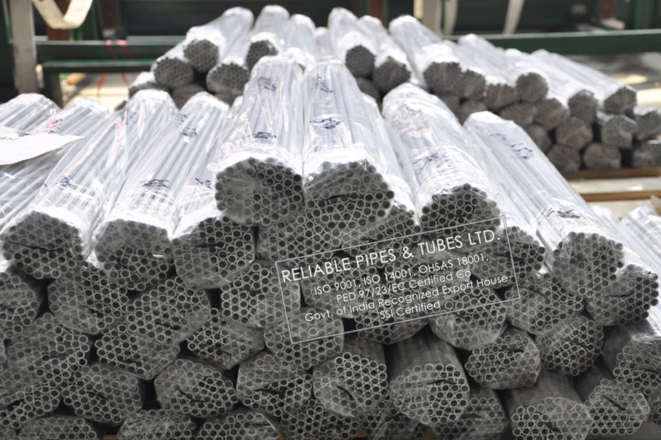ASTM B163/B725 Monel K500 Pipe in RELIABLE PIPES & TUBES Stockyard