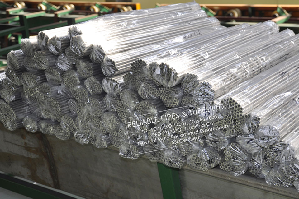 ASTM B165/B730 Monel 400 Tubing in RELIABLE PIPES & TUBES Stockyard