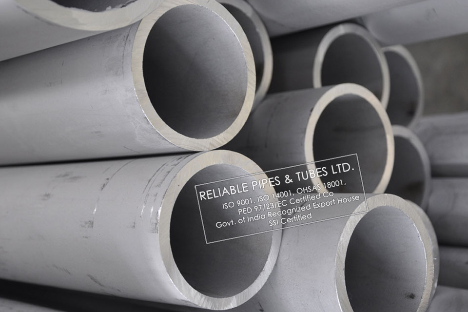 ASTM B407/B358 Incoloy 800H Pipe in RELIABLE PIPES & TUBES Stockyard