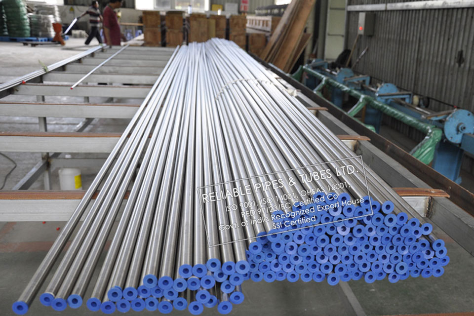 ASTM B407/B358 Incoloy 800HT Pipe in RELIABLE PIPES & TUBES Stockyard
