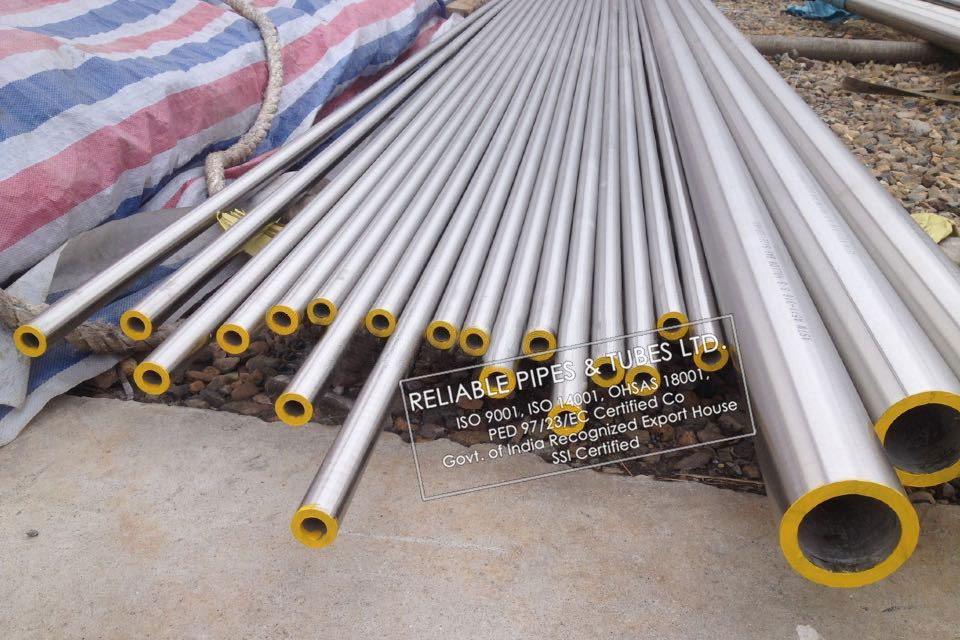 ASTM B622/B619 Hastelloy B2 Pipe in RELIABLE PIPES & TUBES Stockyard