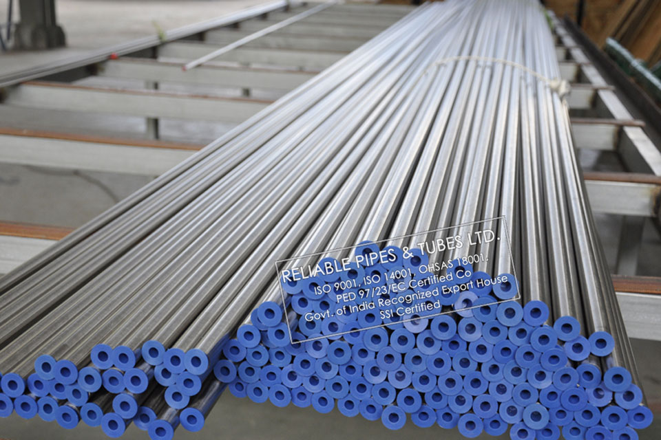 ASTM B622/B626 Hastelloy C22 Tube in RELIABLE PIPES & TUBES Stockyard