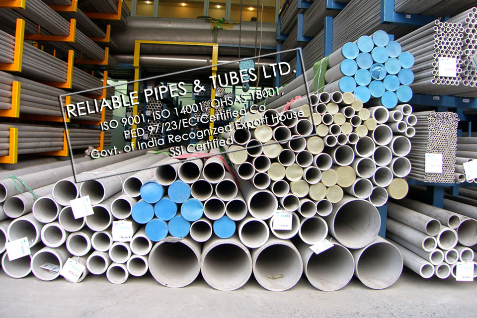 ASTM B677 904L Stainless Steel Tube in RELIABLE PIPES & TUBES Stockyard