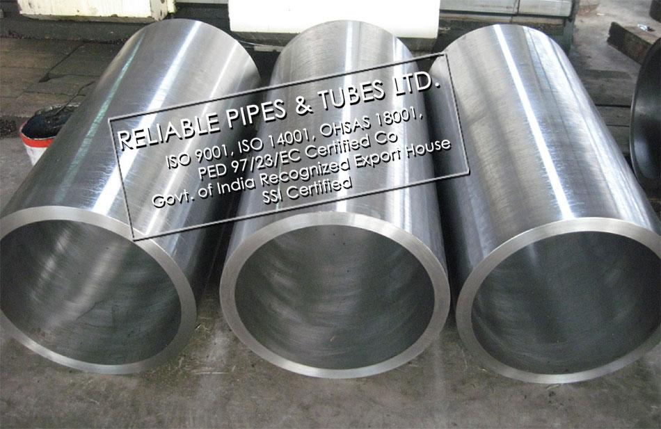 stainless steel pipe sleeve/ Steel sleeve/ Custom steel pipe sleeve in RELIABLE PIPES & TUBES Stockyard