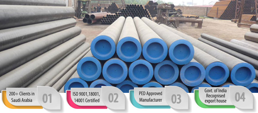 Carbon Steel Pipe suppliers in Saudi Arabia, KSA