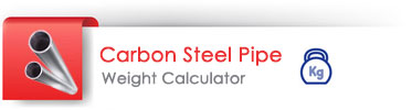 Carbon steel pipe weight calculator