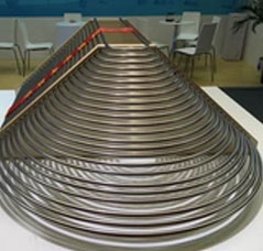 Thin wall seamless stainless steel heat exchanger tubes for oil refineries